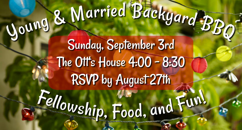 Young & Married BBQ